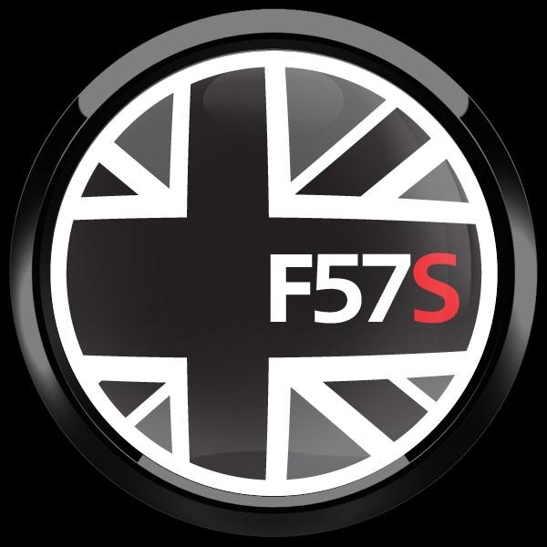 ゴーバッジ(ドーム)(CD1025 - FLAG BLACKJACK F57S) - 画像4