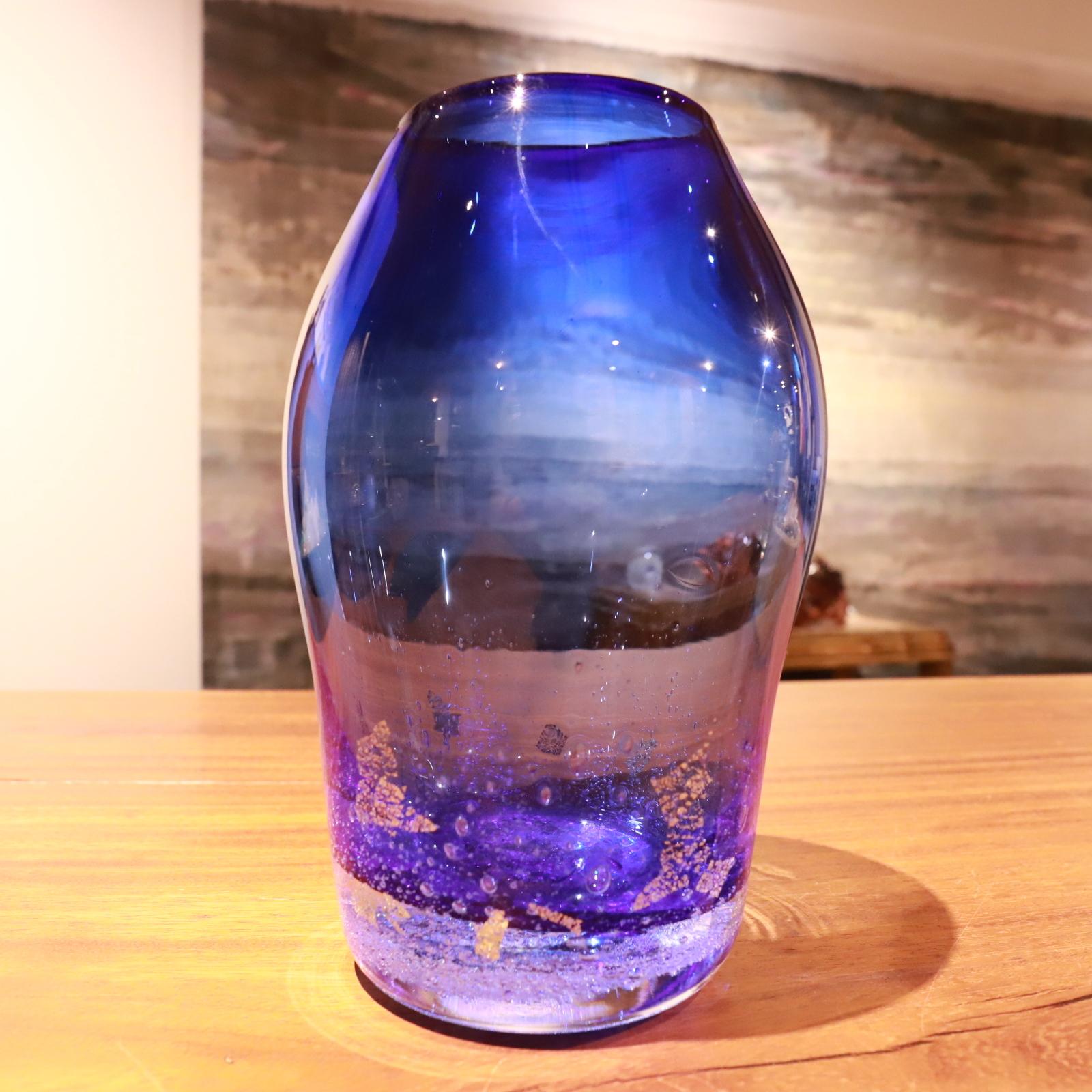 【YUGEN×Bisowa×Cosmic HEMP on the earth】マラカイト花瓶