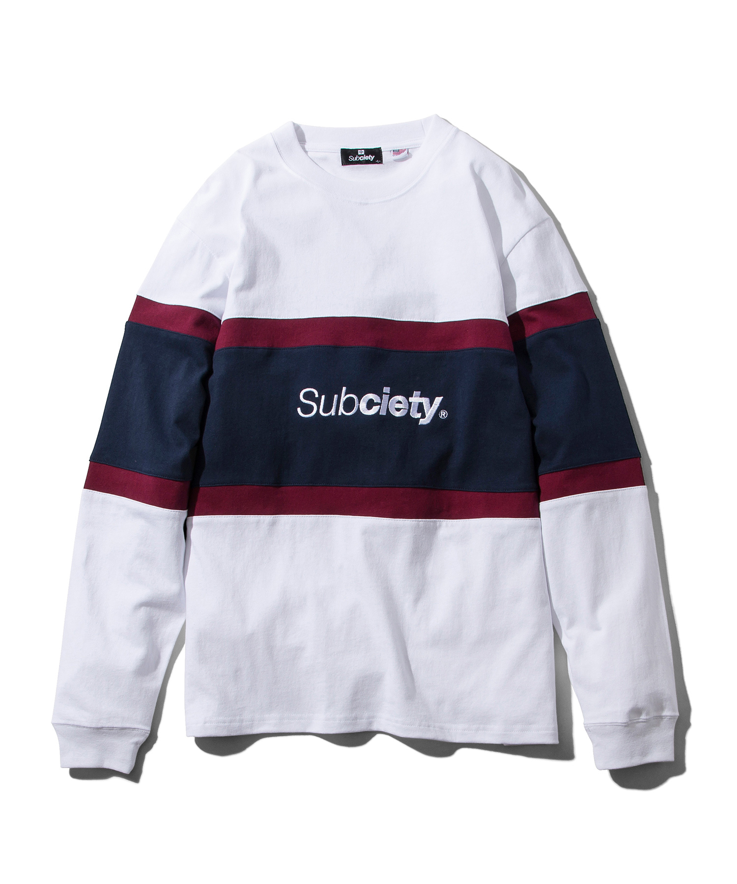 Subciety(サブサエティ) | SWITCHED L/S (White)