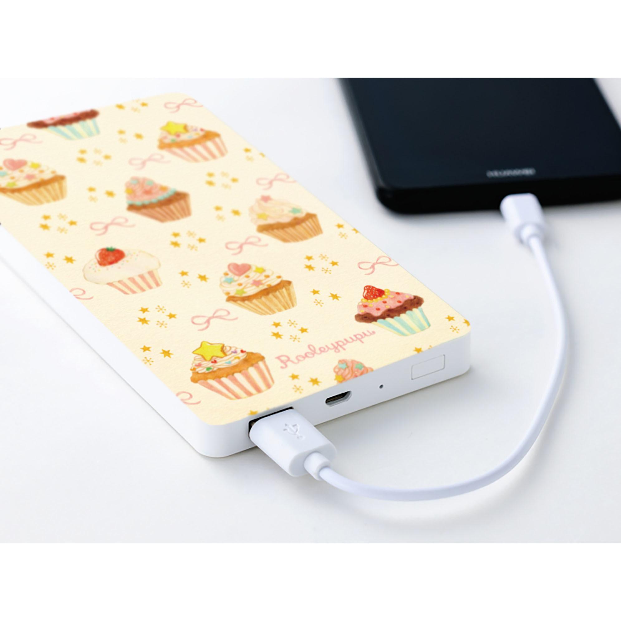 カップケーキスートドリーム〈モバイルバッテリー/充電器 for iPhone & Android〉