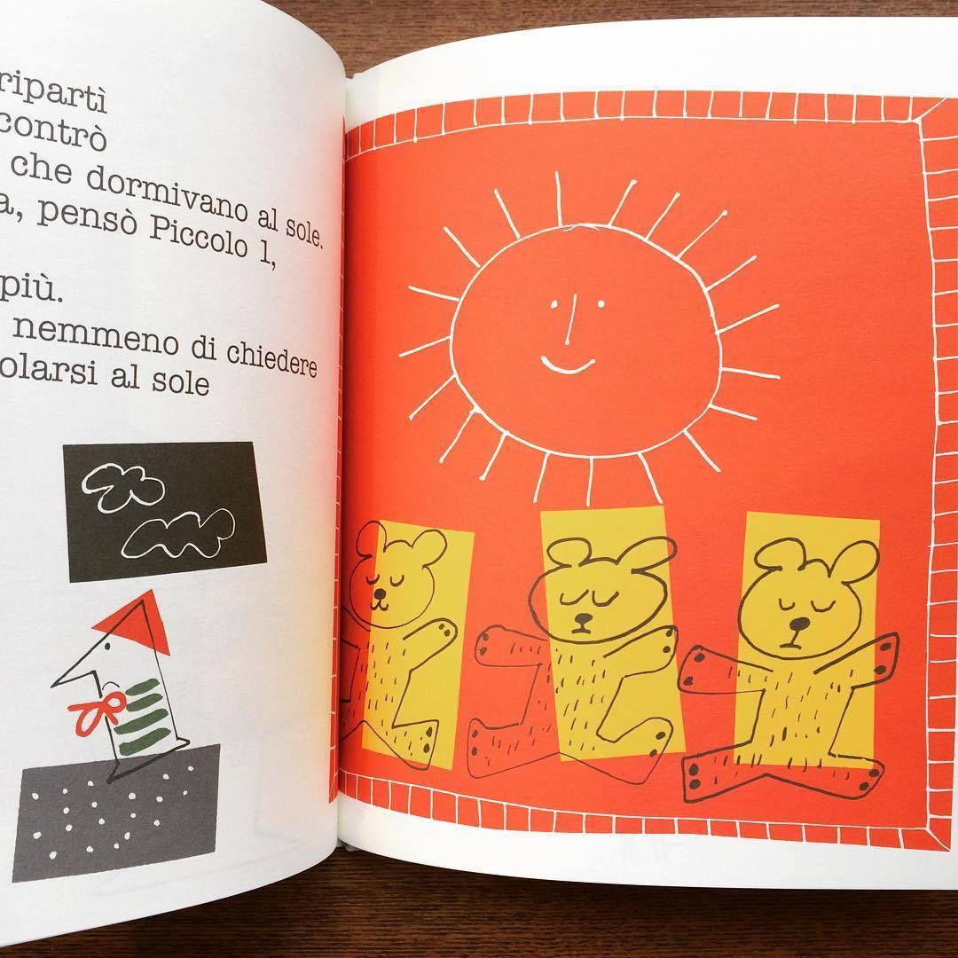 ポール・ランド絵本(イタリア語版)「Little 1 (Piccolo 1)/Ann Rand、Paul Rand」 - 画像2