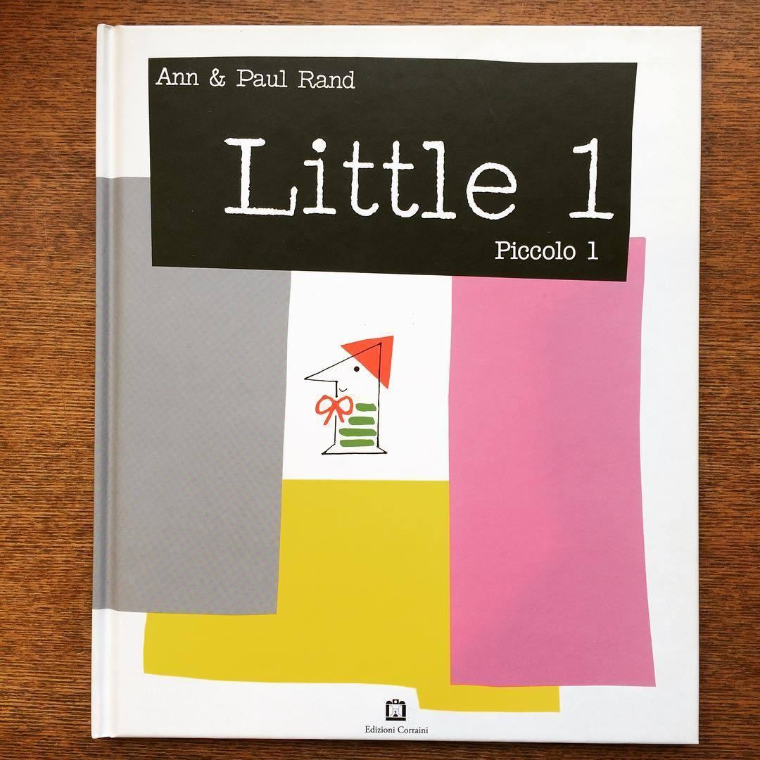 ポール・ランド絵本(イタリア語版)「Little 1 (Piccolo 1)/Ann Rand、Paul Rand」 - 画像1
