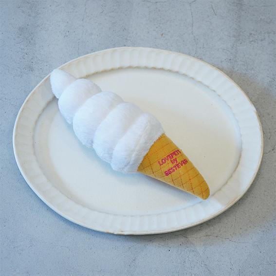 ソフトクリームのおもちゃ