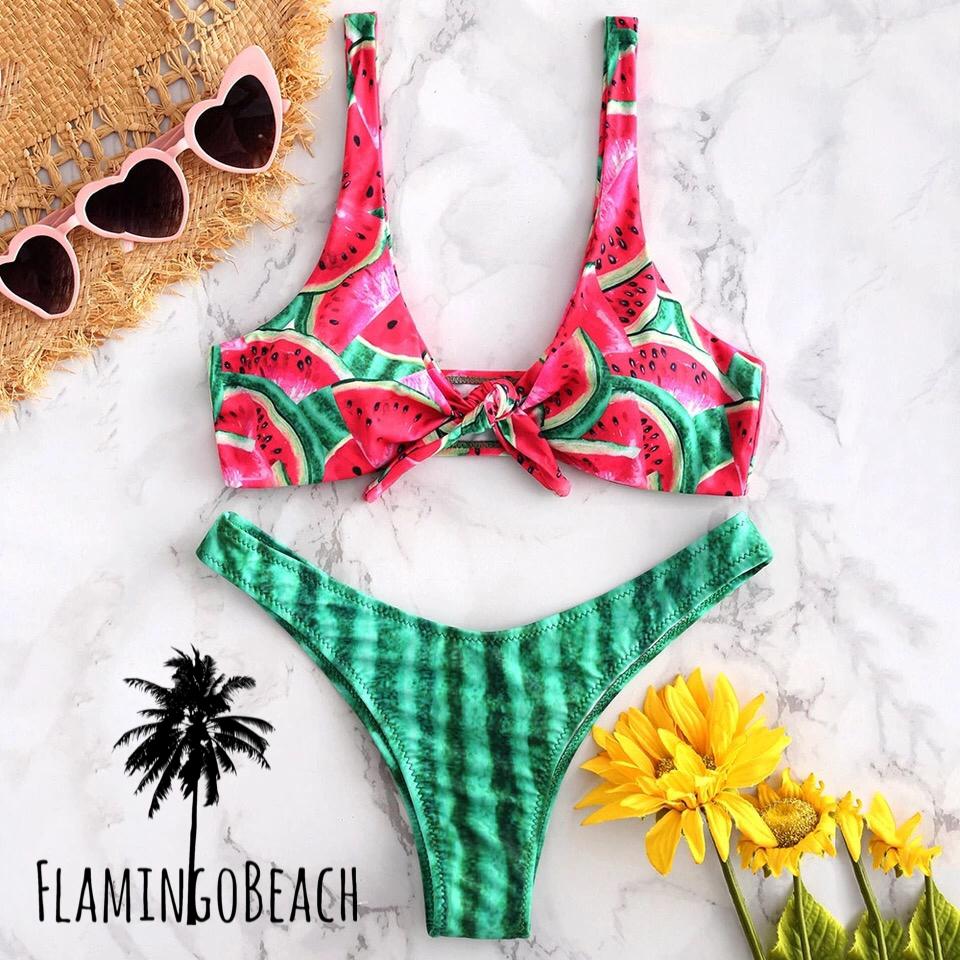 【FlamingoBeach】Watermelon bikini ビキニ