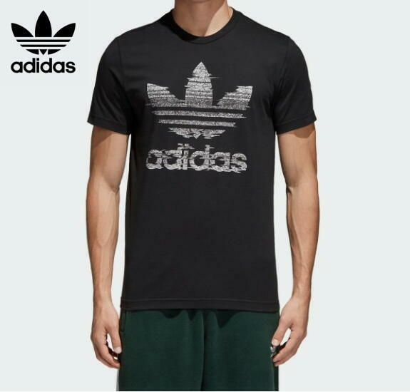 adidas originals アディダス オリジナル Tシャツ 半袖 Tracthion Trefoil CE2240 BLACK