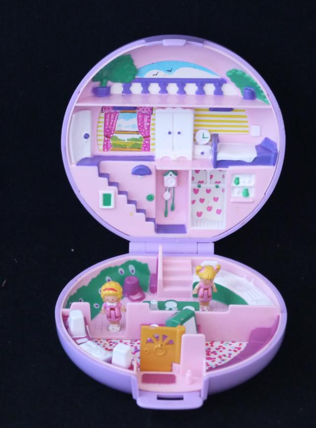 レア!ポーリーポケット ポーリーズフラット 1989年 完品