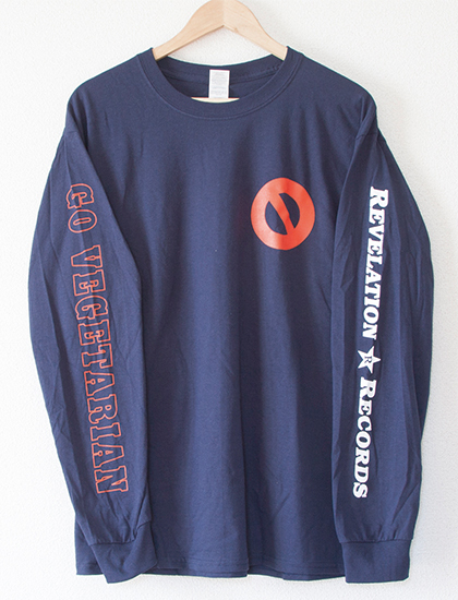 【YOUTH OF TODAY】No More Long Sleeve (Navy)