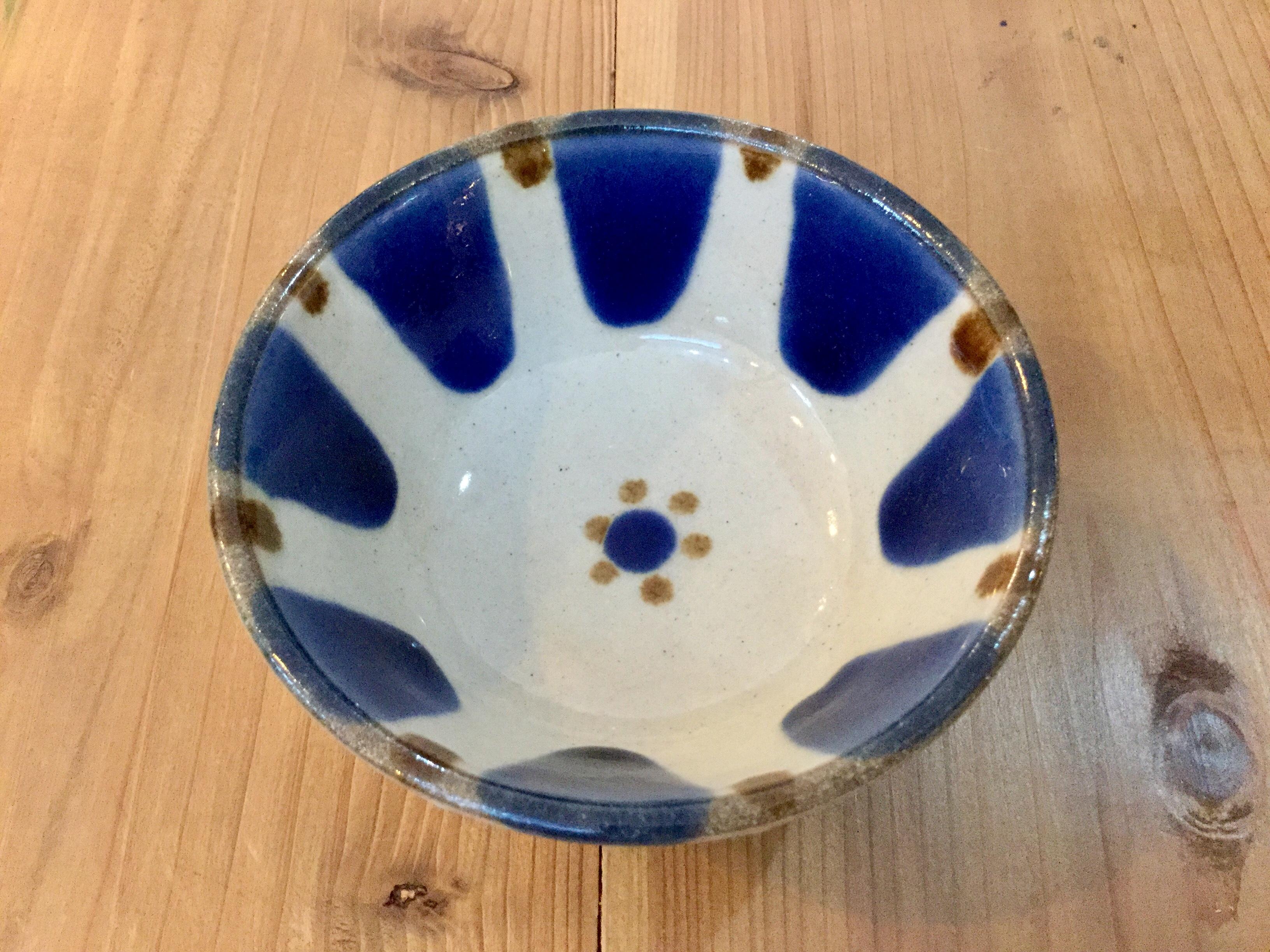 【受注生産商品】鉢4寸コバルト チチチャン ノモ陶器製作所