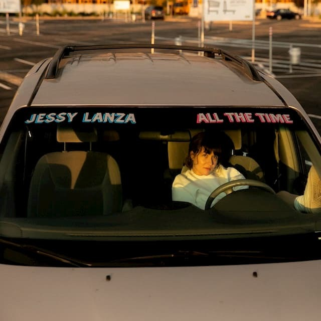 JESSY LANZA - ALL THE TIME (Pink LP)