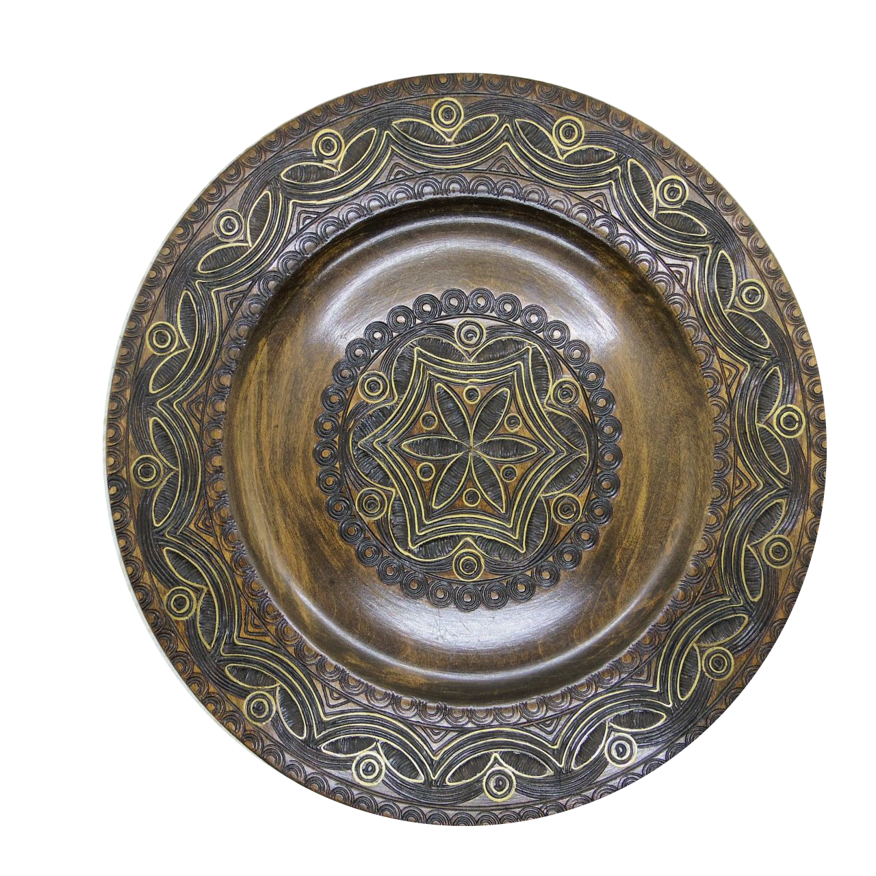 木の飾り皿③
