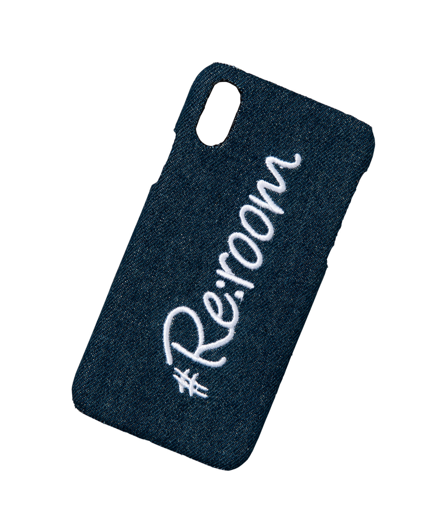 EMBROIDERY LOGO iPhoneXS/X CASE[REG092]