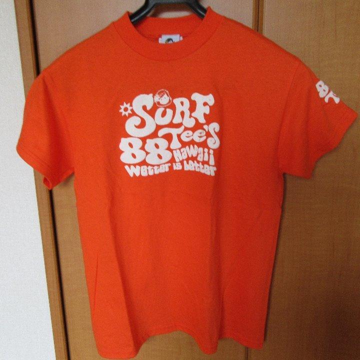 Surf 88Tee!s Tシャツ 中古 オレンジ Mサイズ