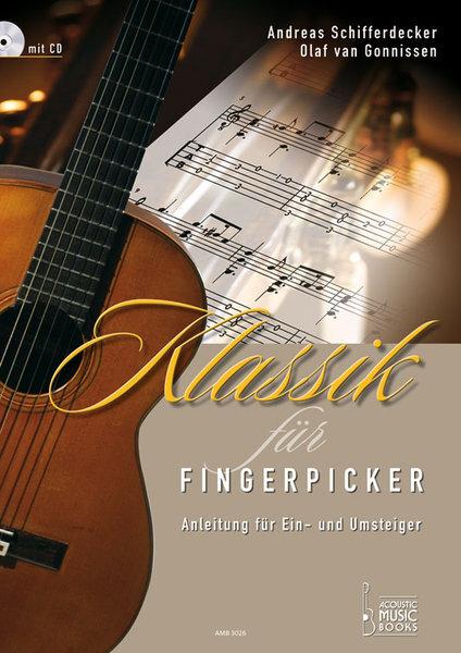 AMB3026 Klassik für Fingerpicker / Andreas Schifferdecker (TAB譜CD付)