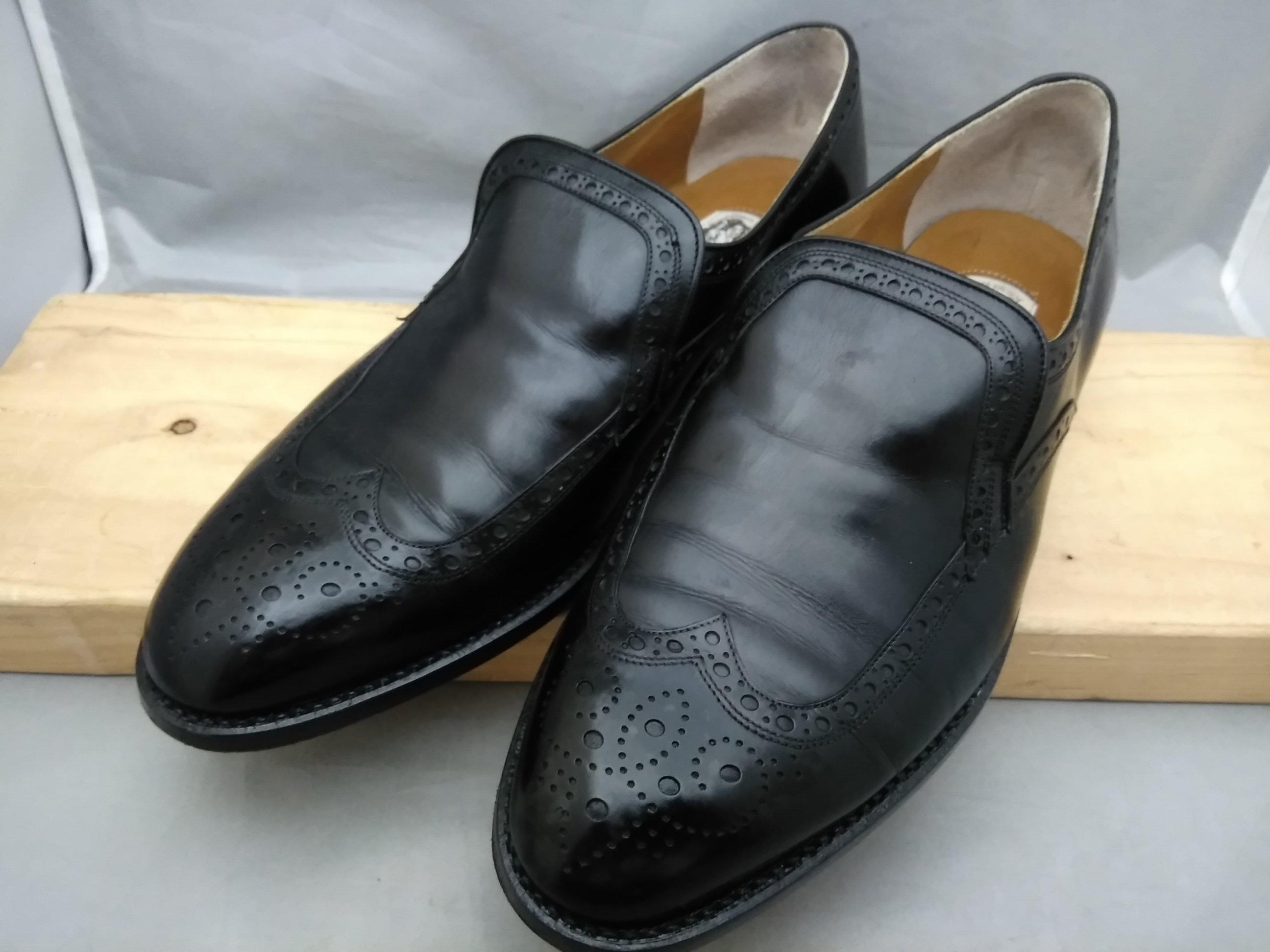 マレリー marelli 革靴 ビジネスシューズ26cmEE 黒 u1509i