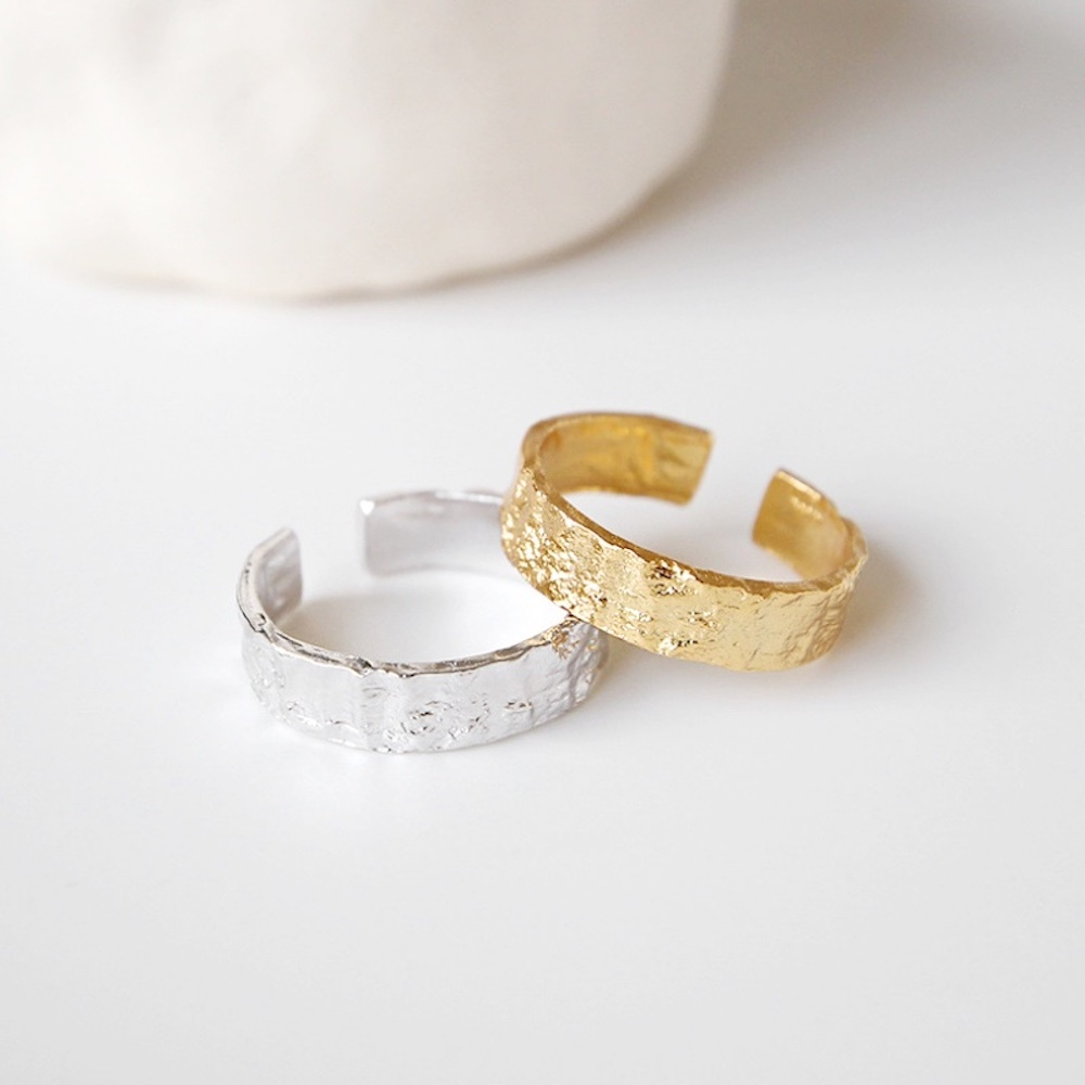 R1004 - 925 Open Ring - Bold