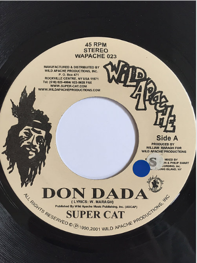 Super Cat(スーパーキャット) - Don Dada【7inch】