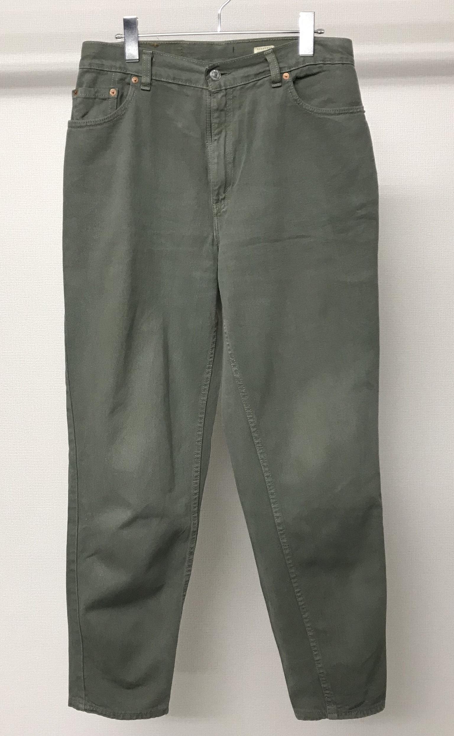 1990s levis sage green denim pants zen source clothing