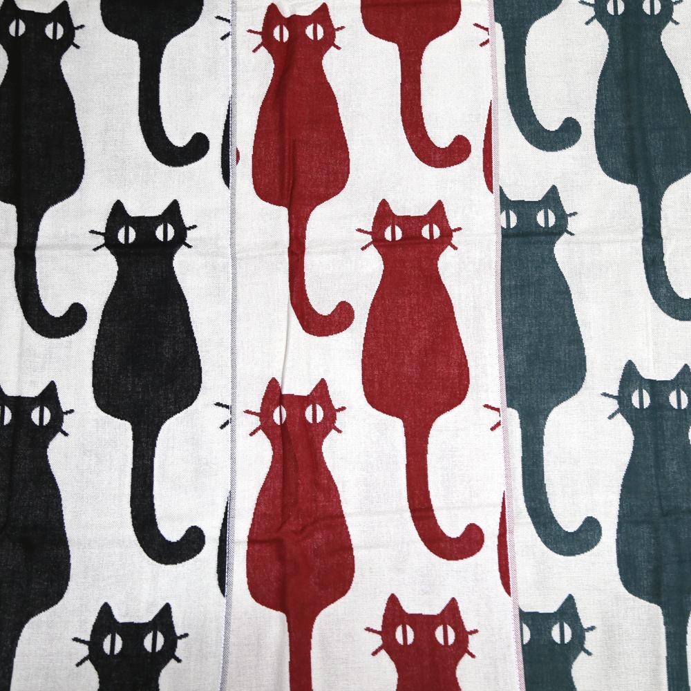 猫フェイスタオル(インテリア猫)全3種類
