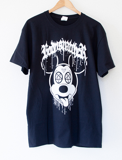【BODYSNATCHER】Mickey T-Shirts (Black)