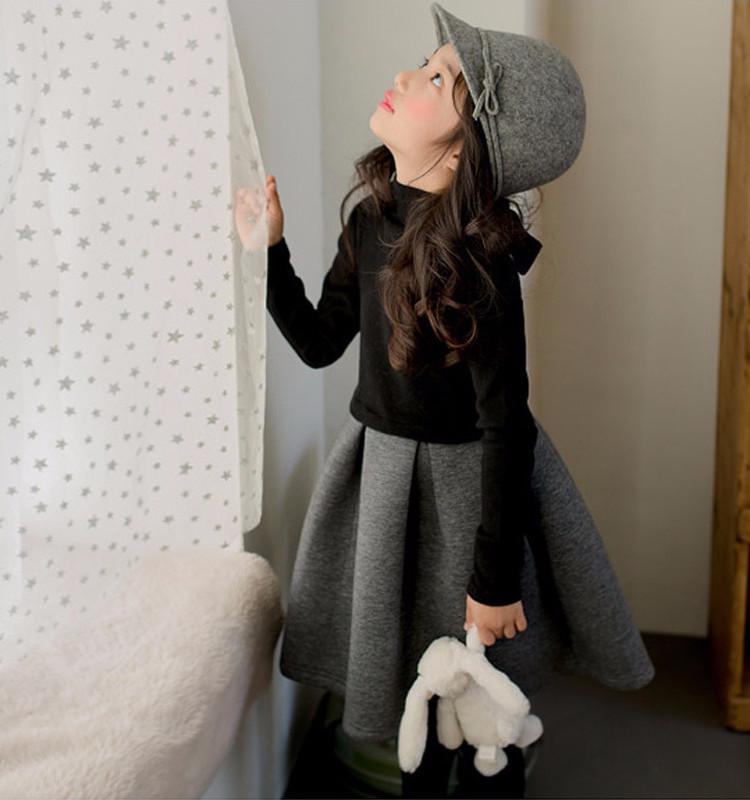 c9cf5cec80d49 (drschr-X0006) キッズ 秋 冬 ドレス 韓国風 女の子 礼服 ピアノ 発表会 ドレス 子供 結婚式ドレス リングガール 子供のドレス