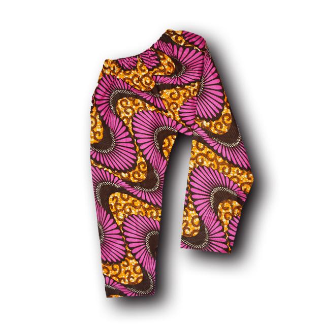 アフリカ柄ズボン(女性M)9