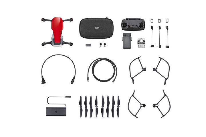 MAVIC AIR Fly More Combo (JP) Flame Red
