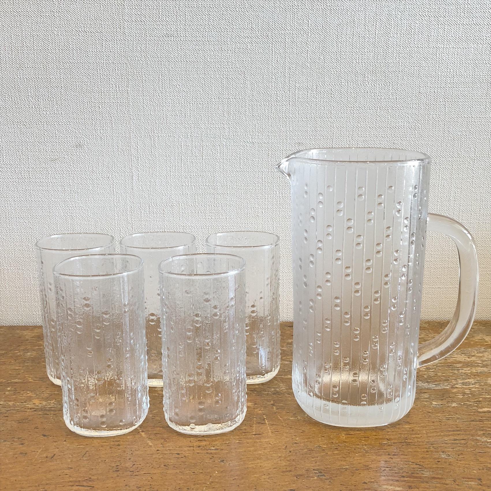 レトロガラスコップ