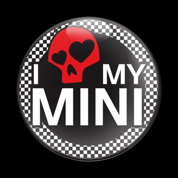 ゴーバッジ(ドーム)(CD0284 - I LOVE MY MINI 02) - 画像1