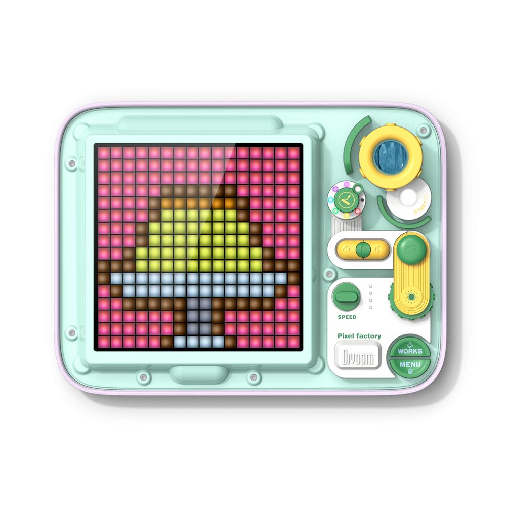 【受注販売商品】PIXELFACTORY 全2色【タッチパネル式 ドット絵お絵かきボード】/ DIVOOM