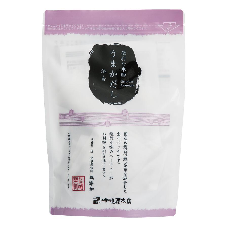 うまかだし 混合 【株式会社 中嶋屋本店】