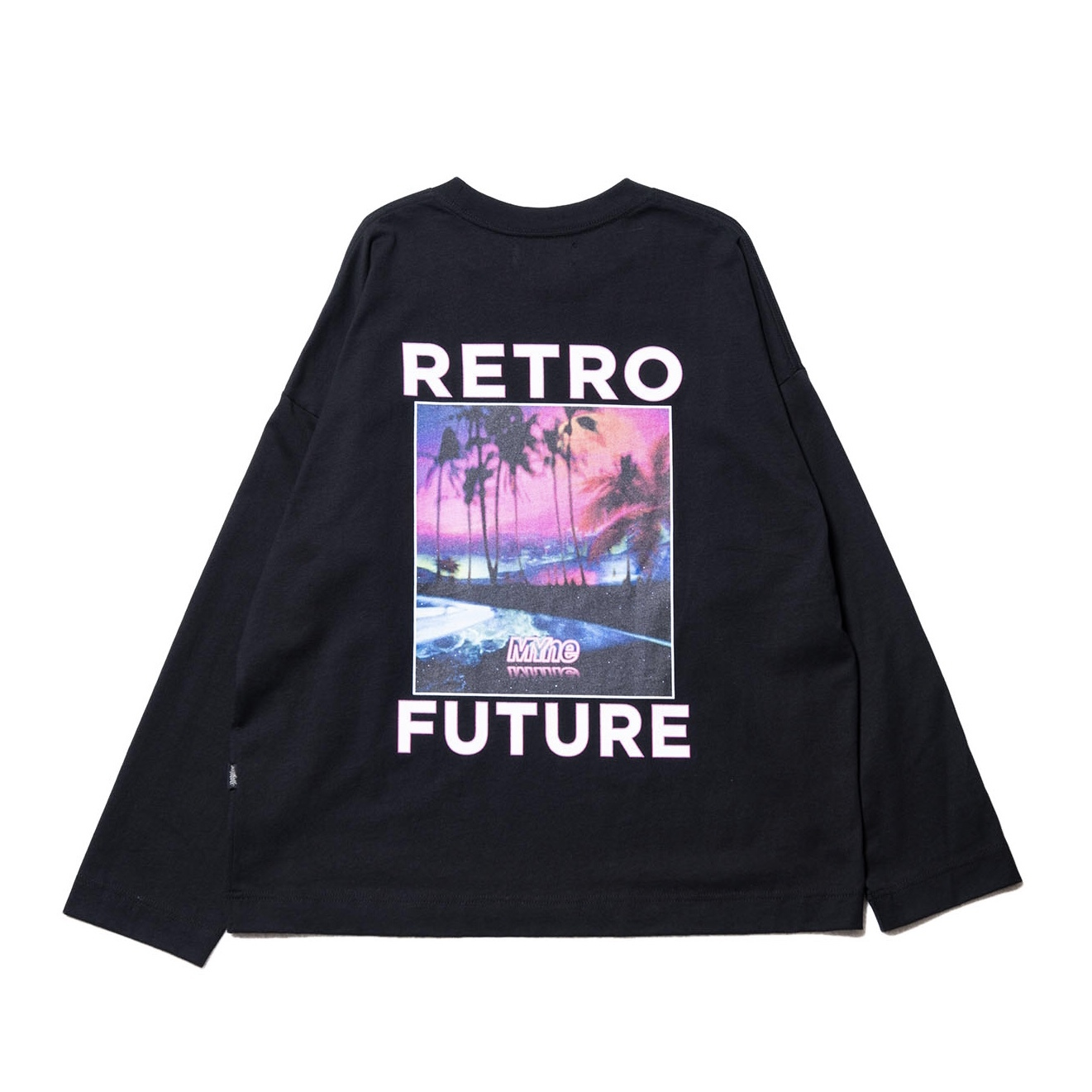 RETRO FUTURE L/S T-shirt / BLACK - 画像2