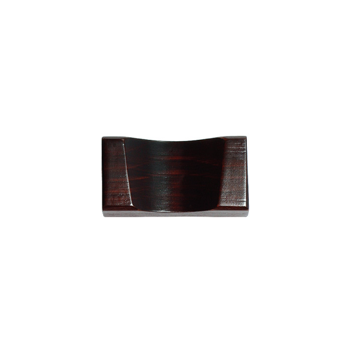 檜古代塗れんげ置台 【42-081】