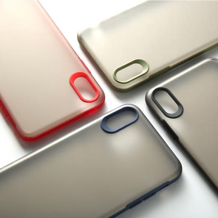 【お取り寄せ商品、送料無料】4カラー シンプル おしゃれマット ハード iPhoneケース iPhone11