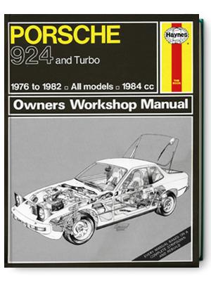 ポルシェ・924 & ターボ・1976-1982・オーナーズ・ワークショップ・マニュアル