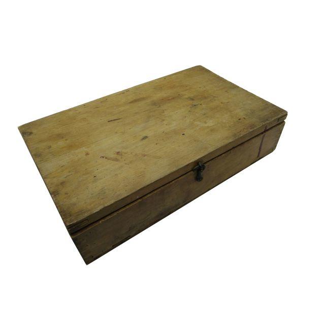 雰囲気のある無骨な古い木箱