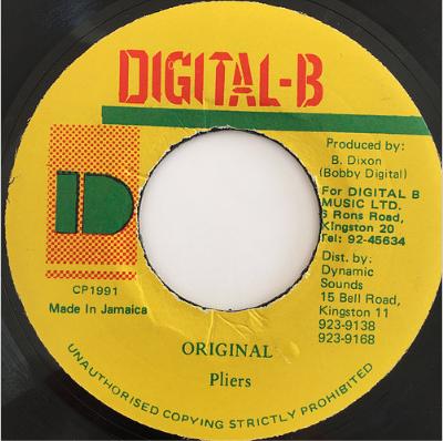 Pliers(プライヤーズ) - Original【7'】