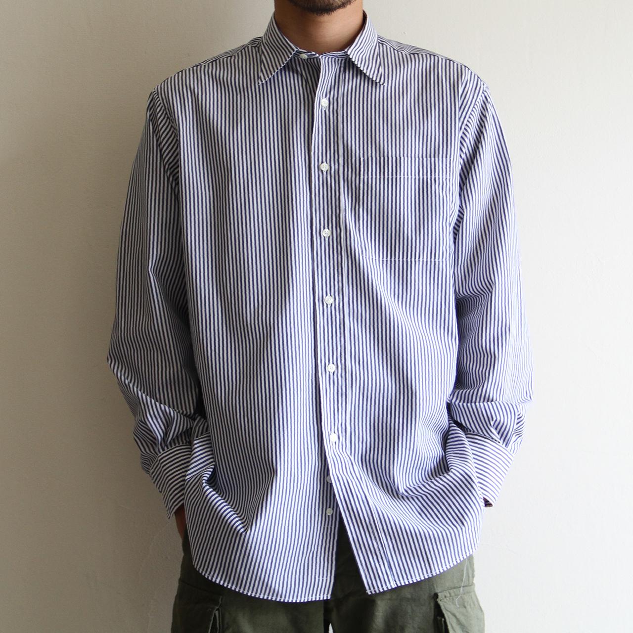 INDIVIDUALIZED SHIRTS【 mens 】Terminal 別注 london stripe shirts