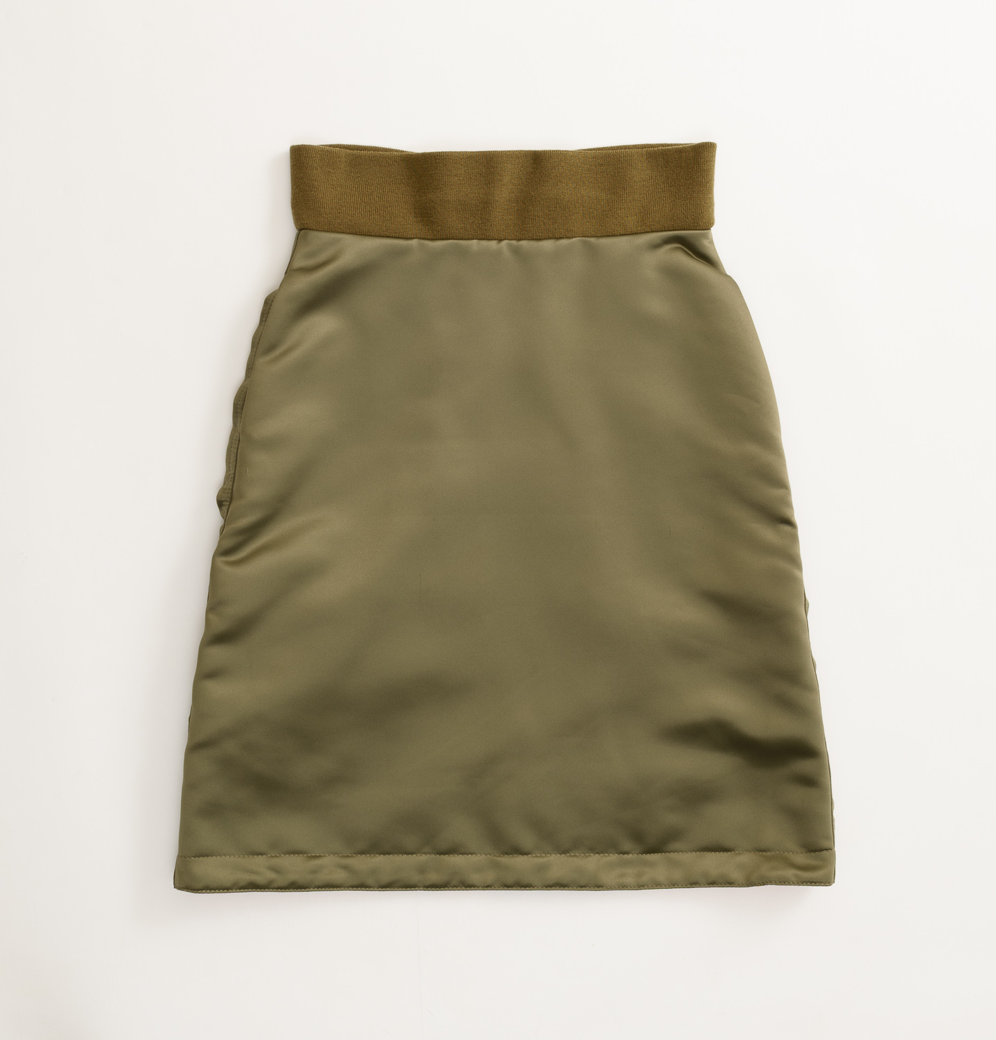 【SON OF THE CHEESE】MA1 SKIRT(OLIVE)