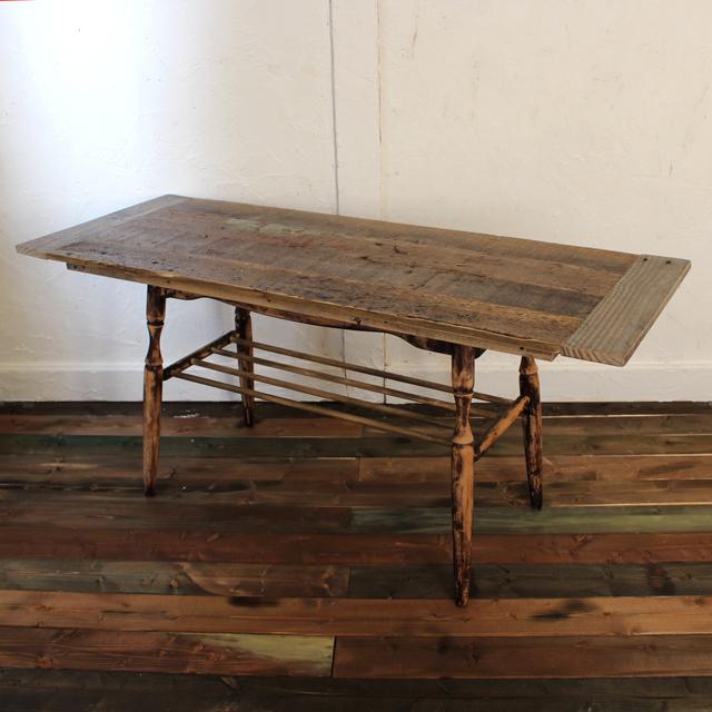 【リメイク】古材を使ったローテーブル