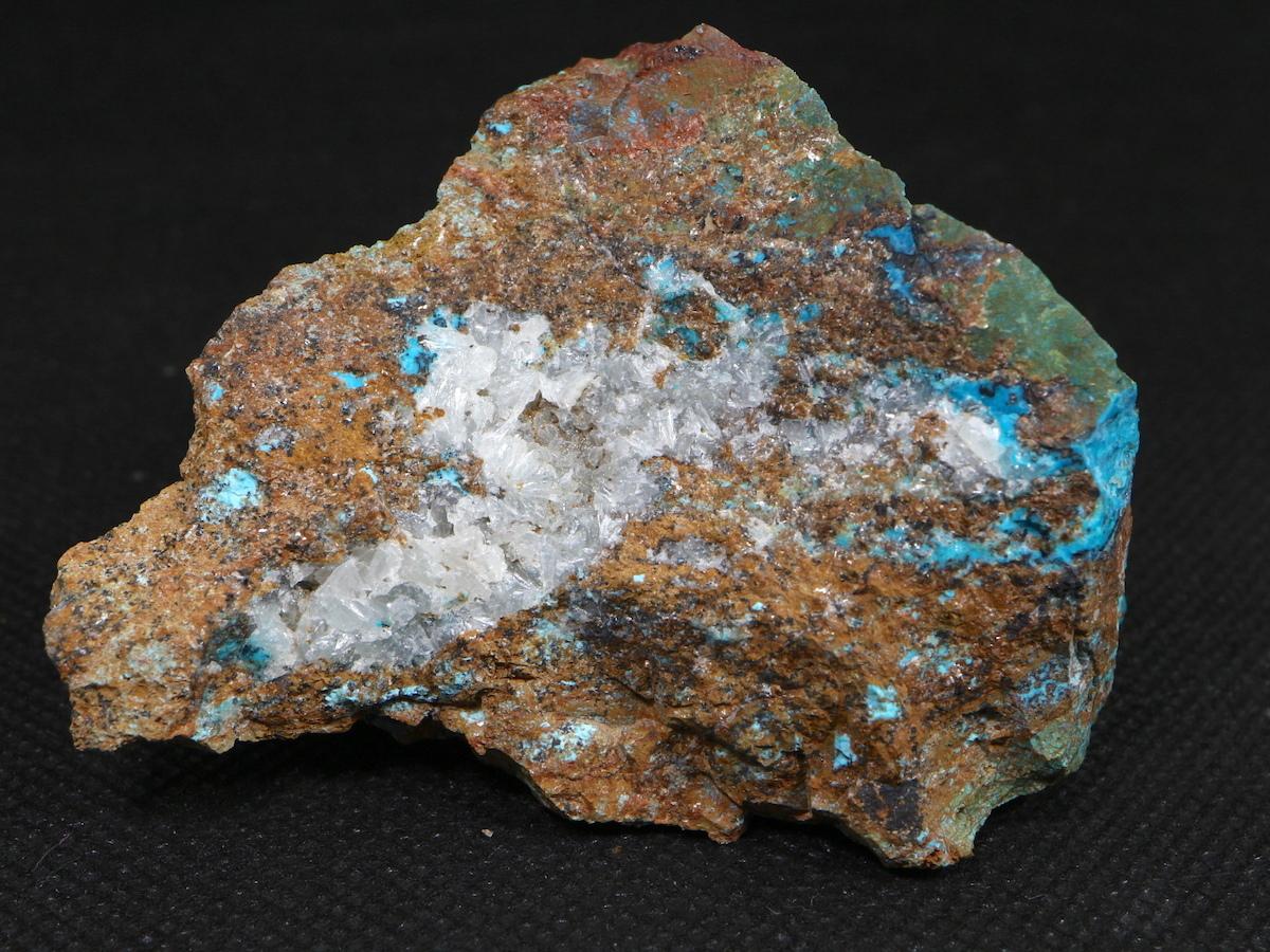 クリソコラ + ヘミモルファイト 珪孔雀石 104,2g CHS015  鉱物 天然石 原石 パワーストーン