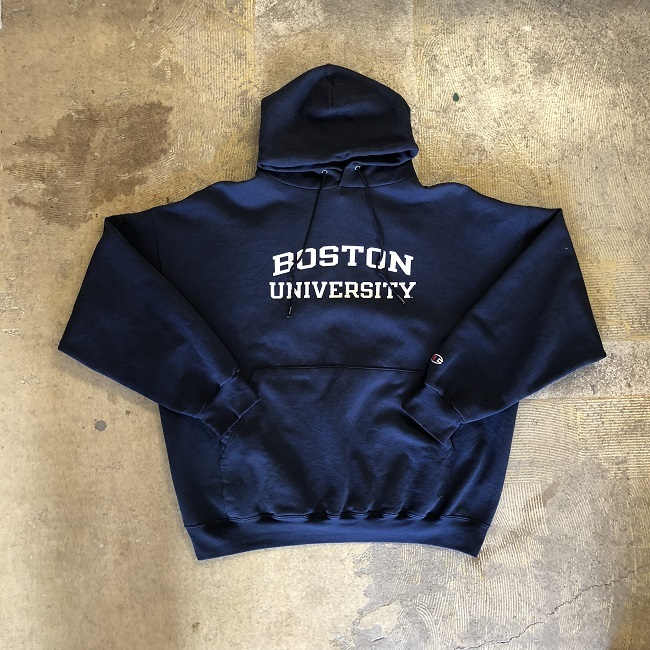 CHAMPION BOSTON UNIVERSITY SWEAT HOODIE #TP-136