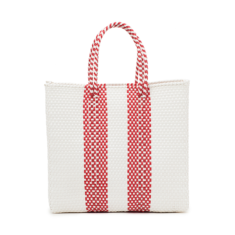 MERCADO BAG 2LINES-Red (M)