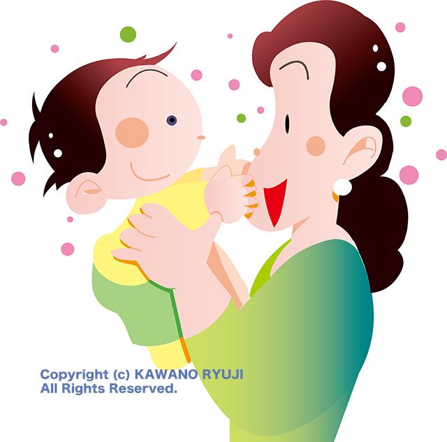 赤ちゃんイラストaiデータベクターデータ Kawanoストック