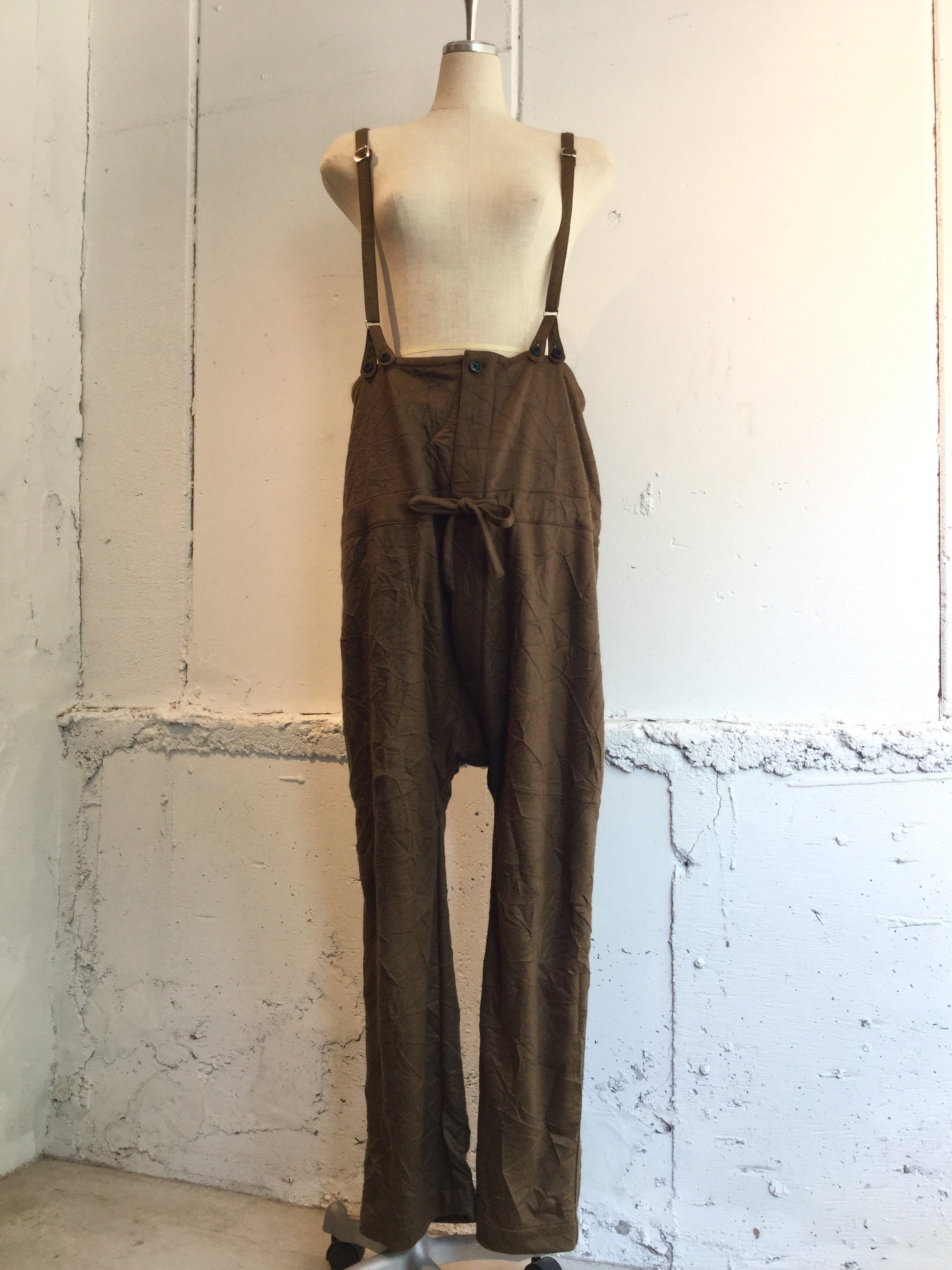 JULIEN DAVID Dungarees Pants