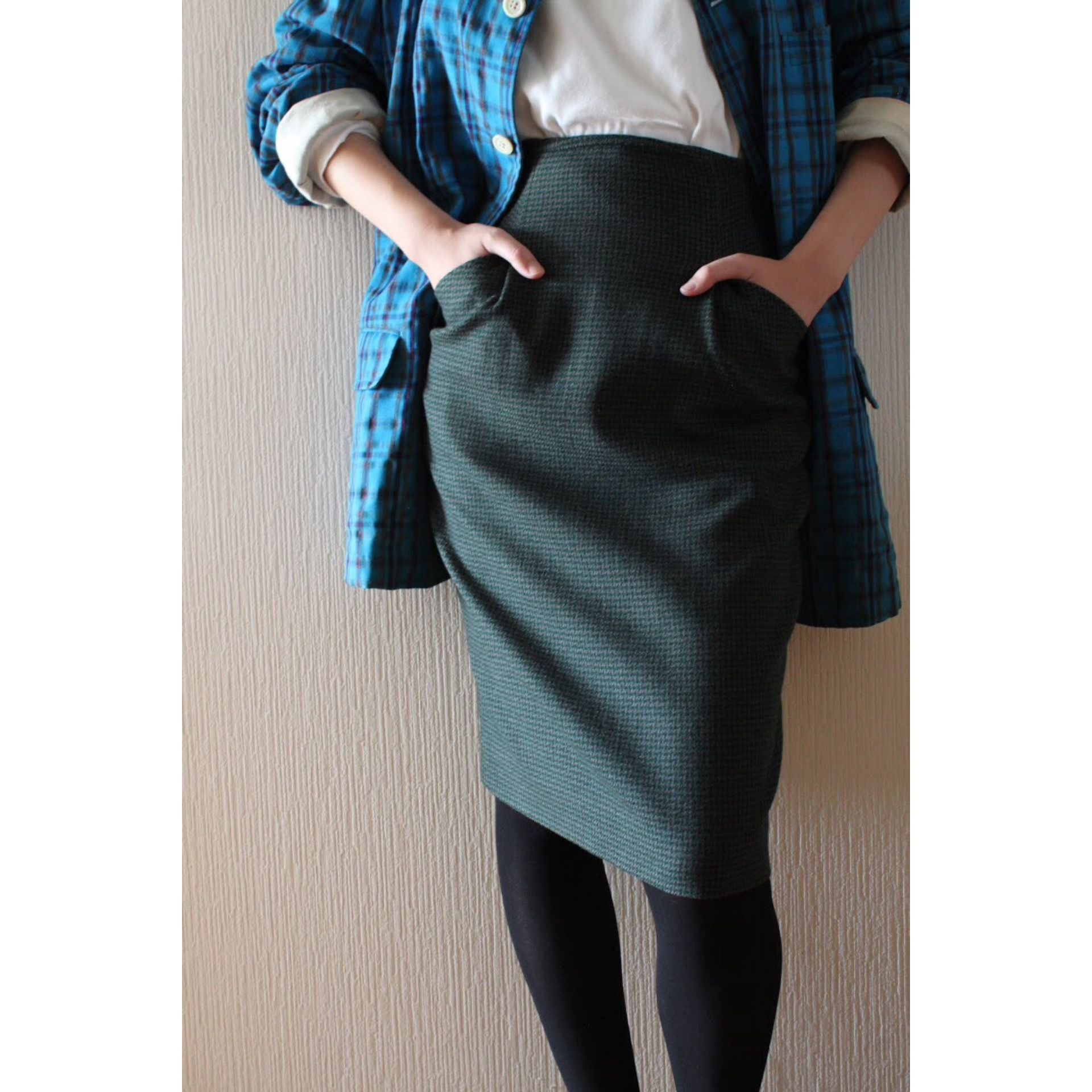 Vintage pencil skirt by Christian Dior