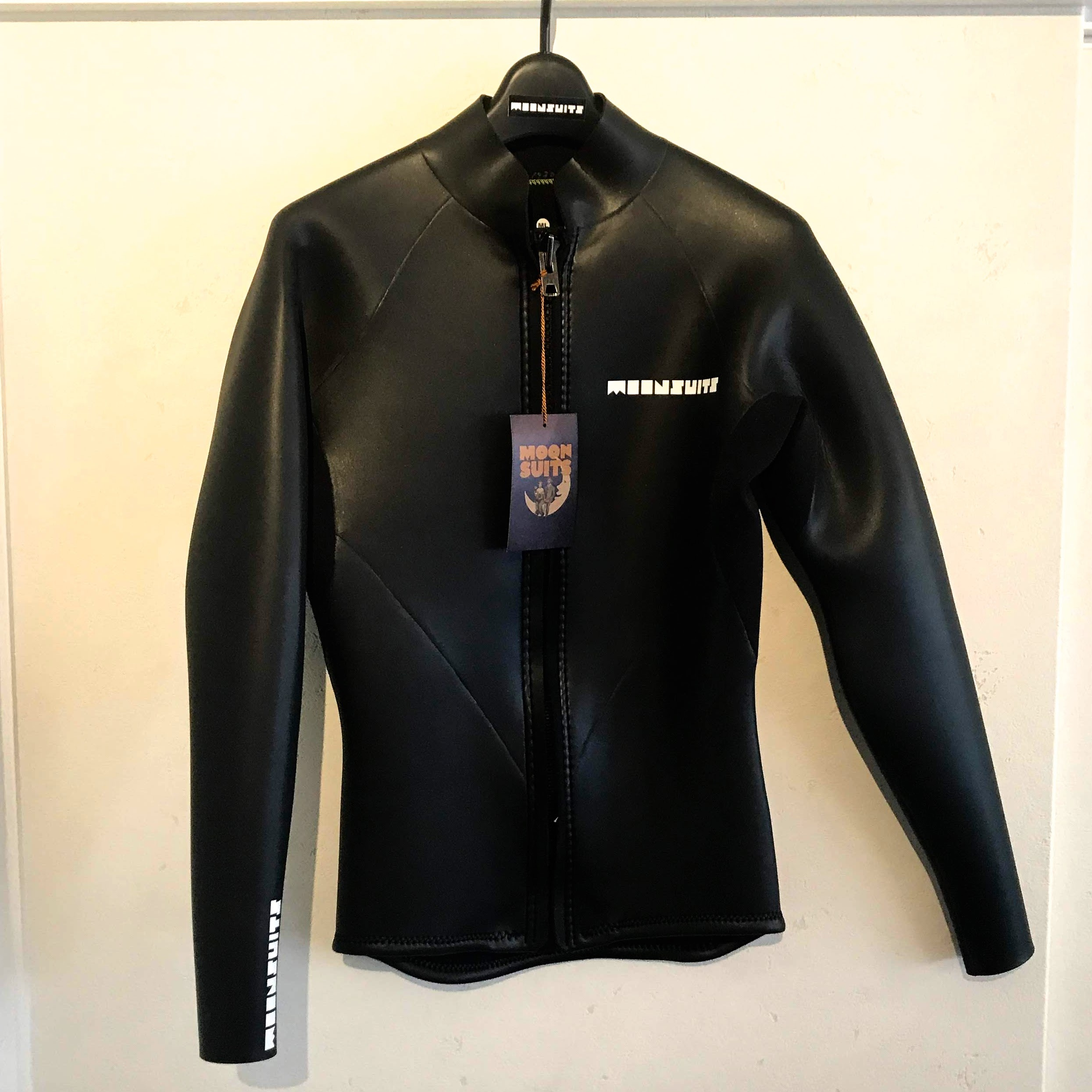 【MOON WETSUITS】ムーンウエットスーツ 2mm 長袖フロントジップジャケット standard