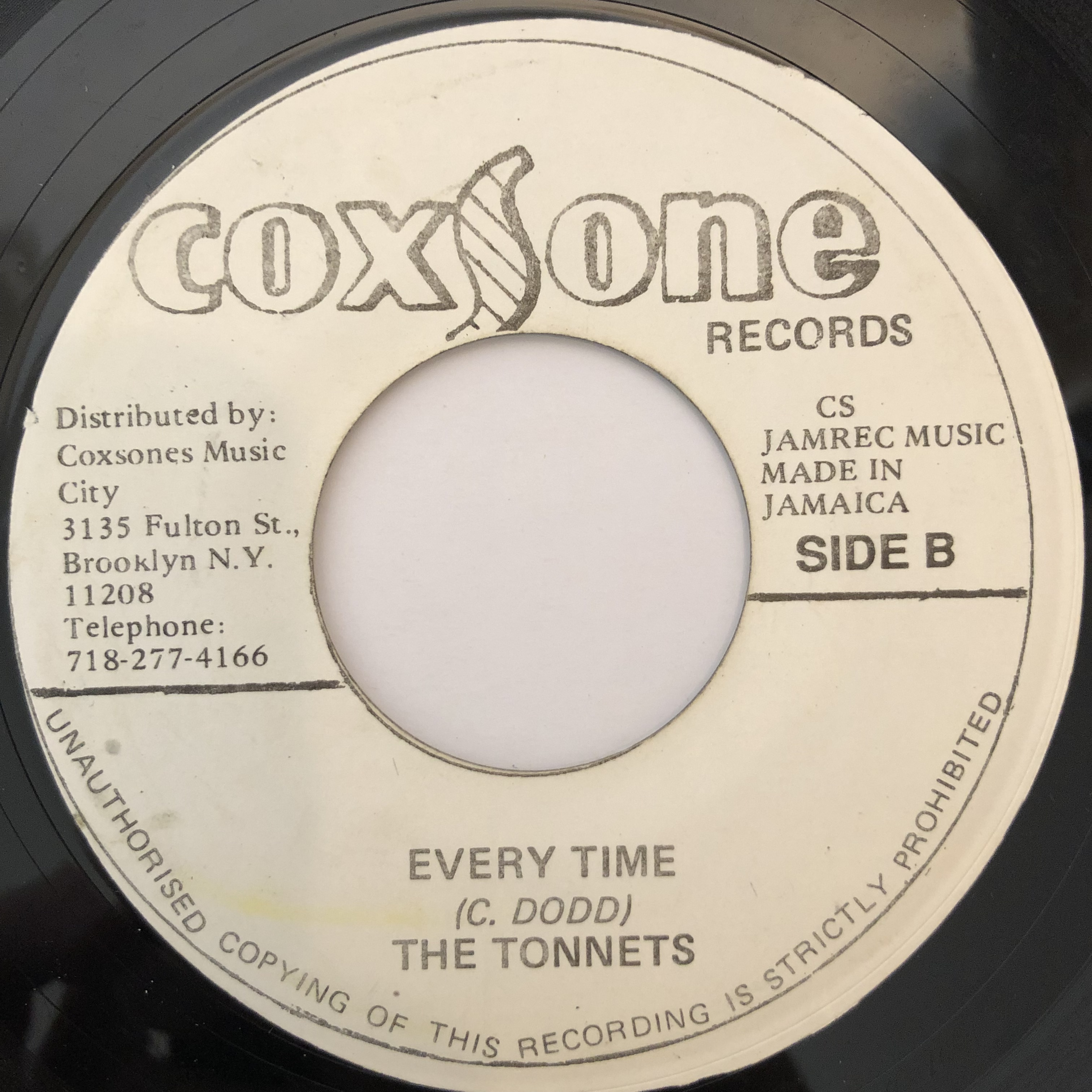 The Tonnets(ザ・トネッツ) - Every Time【7-20243】