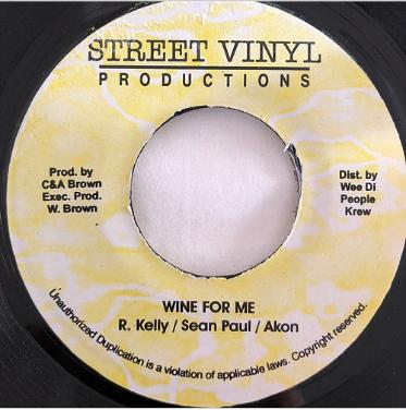 R.Kelly , Sean Paul , Akon - Wine For Me【7'】