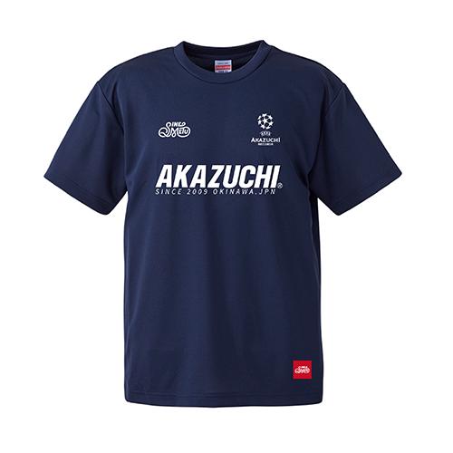 『AKAZUCHI × SINE METU』DRY TEEシャツ / ネイビー