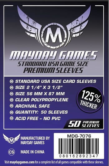 (56x87mm) Mayday カードスリーブ (プレミアムタイプ) MDG-7076